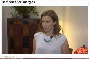 Dr. Menk Otto interviewed by KGW about allergy relief.