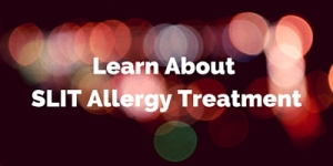 SLIT Allergy Treatment